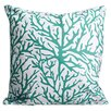 Island Girl Home Coral Throw Pillow