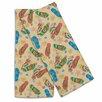 Island Girl Home Beach Flip Flops Hand Towel (Set of 2) (Set of 2)