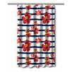Island Girl Home Nasturtiums Shower Curtain