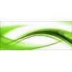 Pro-Art Glasbild High Green Wave II, Kunstdruck