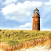 Pro-Art Glasbild Lighthouse IV, Kunstdruck