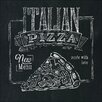 Pro-Art Glasbild Italian Pizza, Kunstdruck