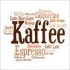 Pro-Art Glasbild Kaffee Mix I, Kunstdruck