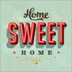 Pro-Art Home Sweet Home Painting Print Glass Art