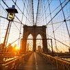 Pro-Art Glasbild Welcome To N.Y., Kunstdruck