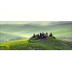 Pro-Art Tuscany Twilight Painting Print Glass Art