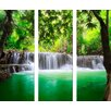 Pro-Art Waterfall Painting Print Glass Art