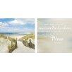 Pro-Art Glasbild Weit auf's Meer, Kunstdruck