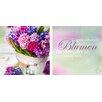 Pro-Art Glasbild Blumen, Kunstdruck