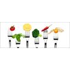 Pro-Art Vegetable & Fruit Painting Print Glass Art