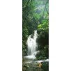 Pro-Art Glasbild Waterfall & Plants, Fotodruck
