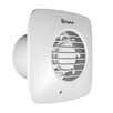 Xpelair Simply Silent DX100 10cm Square Extractor Fan with Humidistat and Timer Delay Complete with Wall Kit