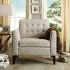 iNSTANT HOME Estrella Tufted Arm Chair