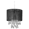 Zappobz Juliana 1 Light Drum Chandelier
