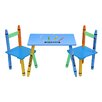 Bebe Style Bebe Style Children's 3 Piece Table and Chair Set