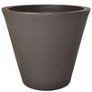 Cosmopolitan Plastic Pot Planter - Color: Espresso - Tusco Products Planters