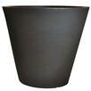 Cosmopolitan Plastic Pot Planter - Color: Black - Tusco Products Planters