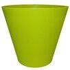 Cosmopolitan Plastic Pot Planter - Color: Lime - Tusco Products Planters