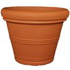 Plastic Pot Planter - Color: Black - Size: 10 inch High x 13.5 inch Wide x 13.5 inch Deep - Tusco Products Planters
