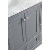 """Urban Furnishings Jocelyn 60"""" Bathroom Sink Vanity Set with Mirror"""