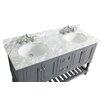 "Urban Furnishings Silvia 60"" Bathroom Sink Vanity Set with Mirror"
