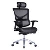 Conklin Office Furniture Vito Mesh Task Chair with Headrest