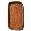 artifacts trading Rattan Rectangular Tray with Rounded Corners and Cutout Handles