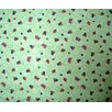 Sheetworld Butterfly Daisy Toddler Fitted Crib Sheet