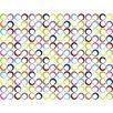 Sheetworld Primary Rings Woven Crib Sheets (Set of 3)