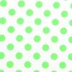 Sheetworld Neon Polka Dots Pack N Play Playard Fitted Crib Sheet