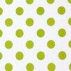 Sheetworld Polka Dots Travel Crib Light Fitted Crib Sheet
