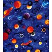 Sheetworld Planets Toddler Fitted Crib Sheet