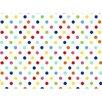 Sheetworld Primary Polka Dots Woven Crib Sheets (Set of 3)