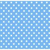 Sheetworld Primary Polka Dots Woven Mini Fitted Crib Sheet