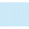 Sheetworld Pastel Bubbles Woven Crib Sheets (Set of 3)