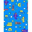 Sheetworld Kiddie Transport Toddler Fitted Crib Sheet