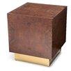 M3LD Milton Burl Large Cube End Table
