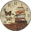 dio Only for You Books 34cm Analogue Wall Clock