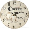 dio Only for You Coffee Shop 34cm Analogue Wall Clock