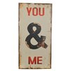 dio Only for You You & Me Wall Décor