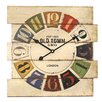 dio Only for You Old Town Analogue Wall Clock