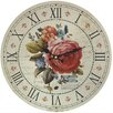 dio Only for You Roses 33cm Analogue Wall Clock