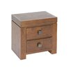 Woodhaven Hill 2 Drawer Bedside Table