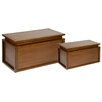 Woodhaven Hill 2-Piece Chest Set