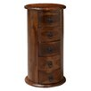Woodhaven Hill Deborah 5 Drawer Round Drum Chest