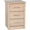 Home Loft Concept Rossi 3 Drawer Bedside Table