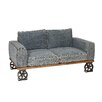 Home Loft Concept Denim Young 2 Seater Sofa