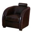 Home Loft Concept Aviator Tub Leather Tub Chair