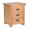 Home Loft Concept Mirmande 3 Drawer Bedside Table
