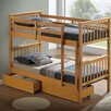 Home Loft Concept Ellen Single Bunk Bed with Storage